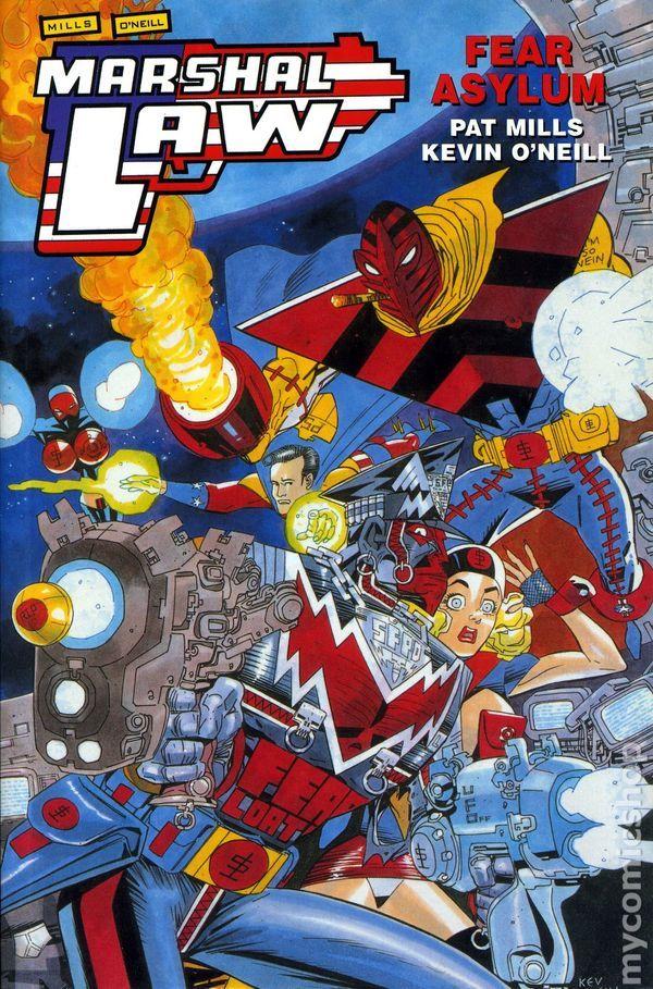 Marshal Law Comics Google Search Comic Book Stuff Comics