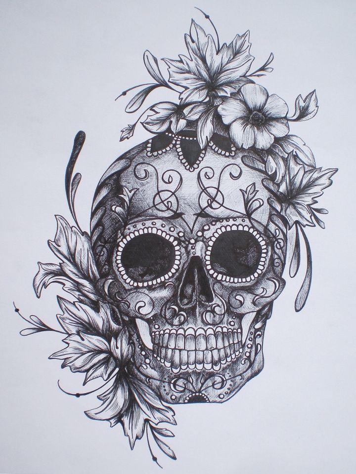 Dia De Los Muertos Dibujo Tatuajes Calaveras Tatuajes Y Calaveras