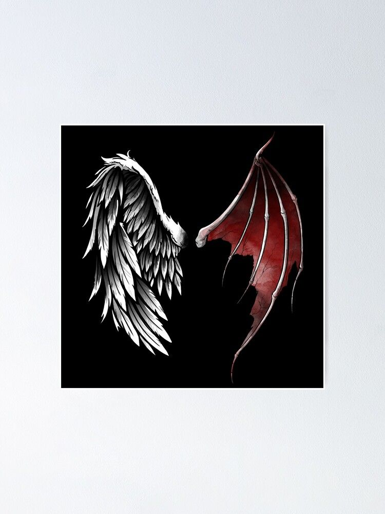 Lucifer Wings Poster By Nemimakeit In 2021 Lucifer Wings Wings Drawing Angel Wings Drawing
