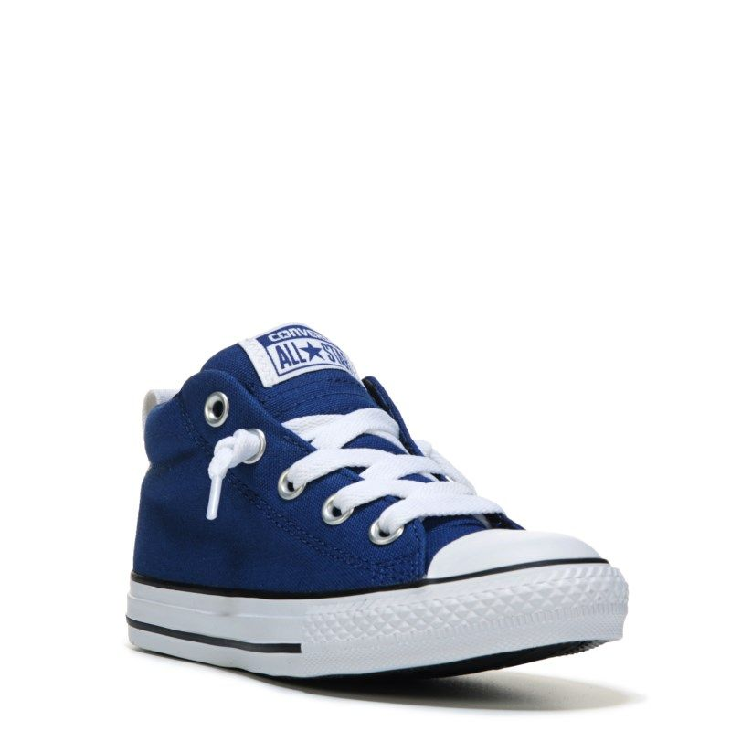 Kids' Chuck Taylor All Star Street Mid Top Sneaker | Blue