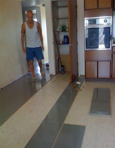 kitchen with floating tile floor laminate floor flooring tile rh pinterest co uk floating wood floor for kitchen floating floor for kitchen