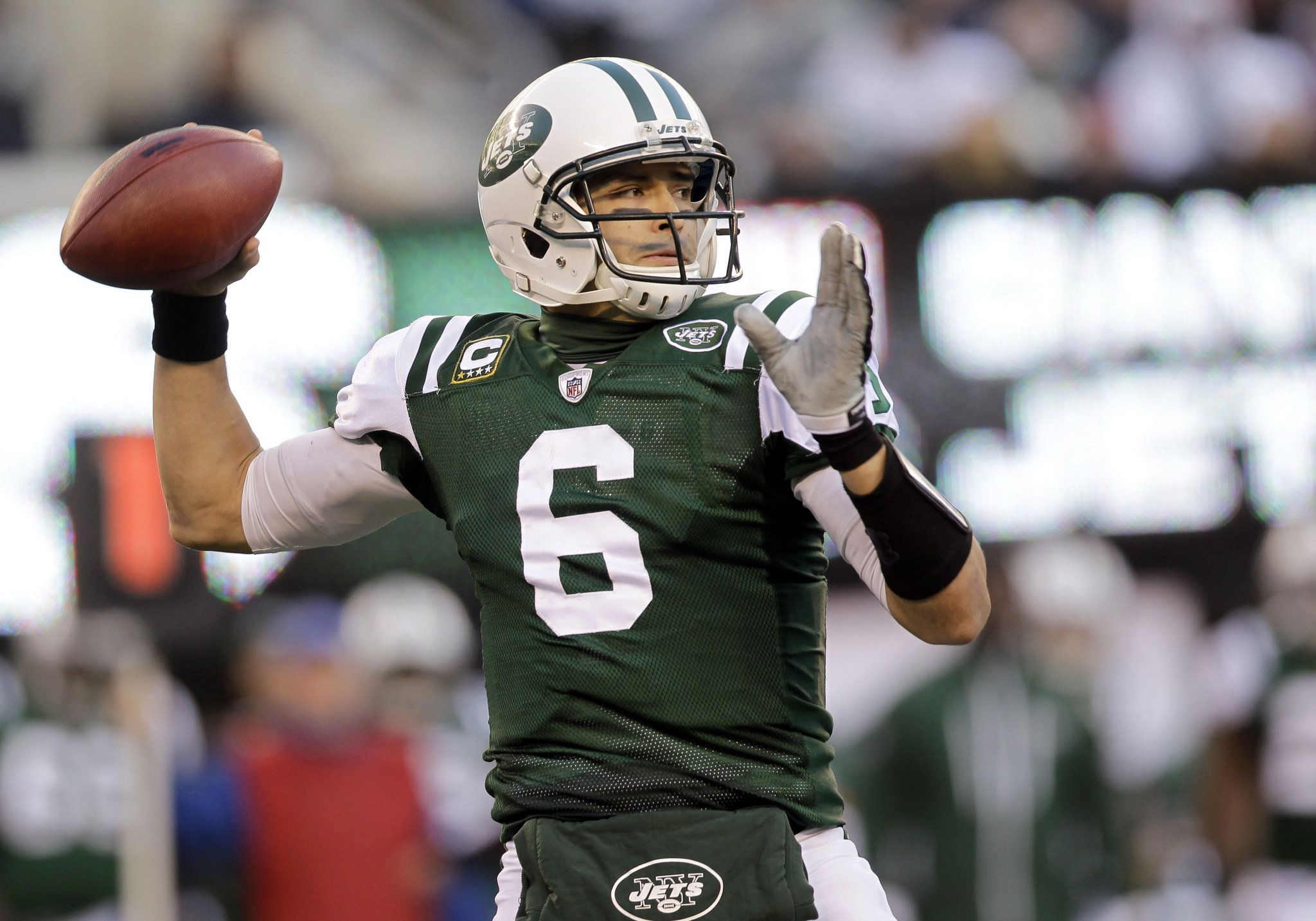 Image result for mark sanchez jets