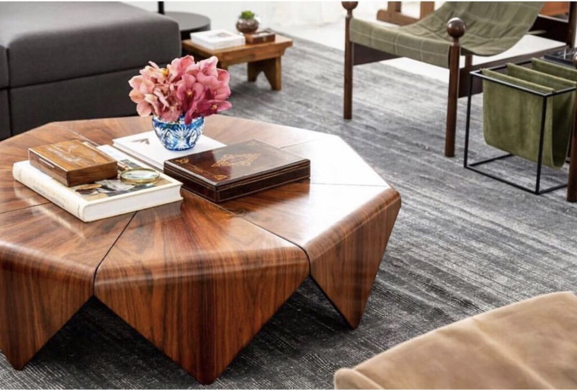Petalas Coffee Table Designed By Jorge Zalszupin Available At Espasso Midcentury Modern And Contemporary Coffee Table Living Room Designs Coffee Table Design [ 761 x 1125 Pixel ]