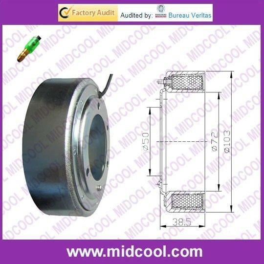 Auto AC Compressor Clutch Coil FOR SANDEN SD508 12V(Aluminum line