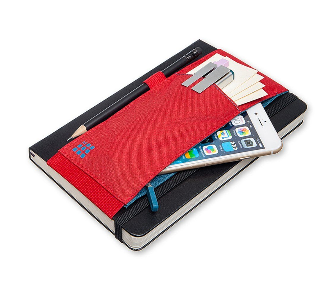 Smile Moleskine Tool Belt Large Scarlet Red Office Products