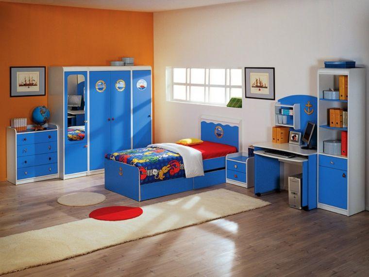 dormitorios modernos para niños - decorahoy | dormitorio niño ... - Muebles Para Ninos