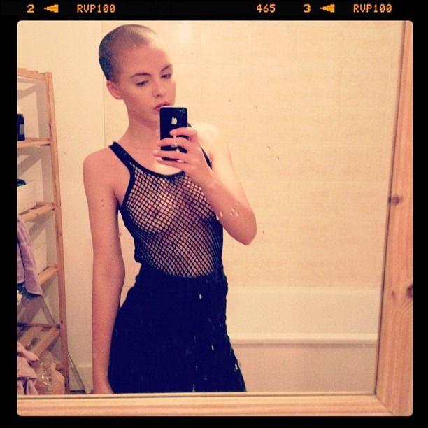 Bald Girl Huge Nips