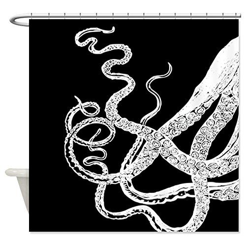 CafePress Kraken Tentacles Shower Curtain Decorative Fabric Shower