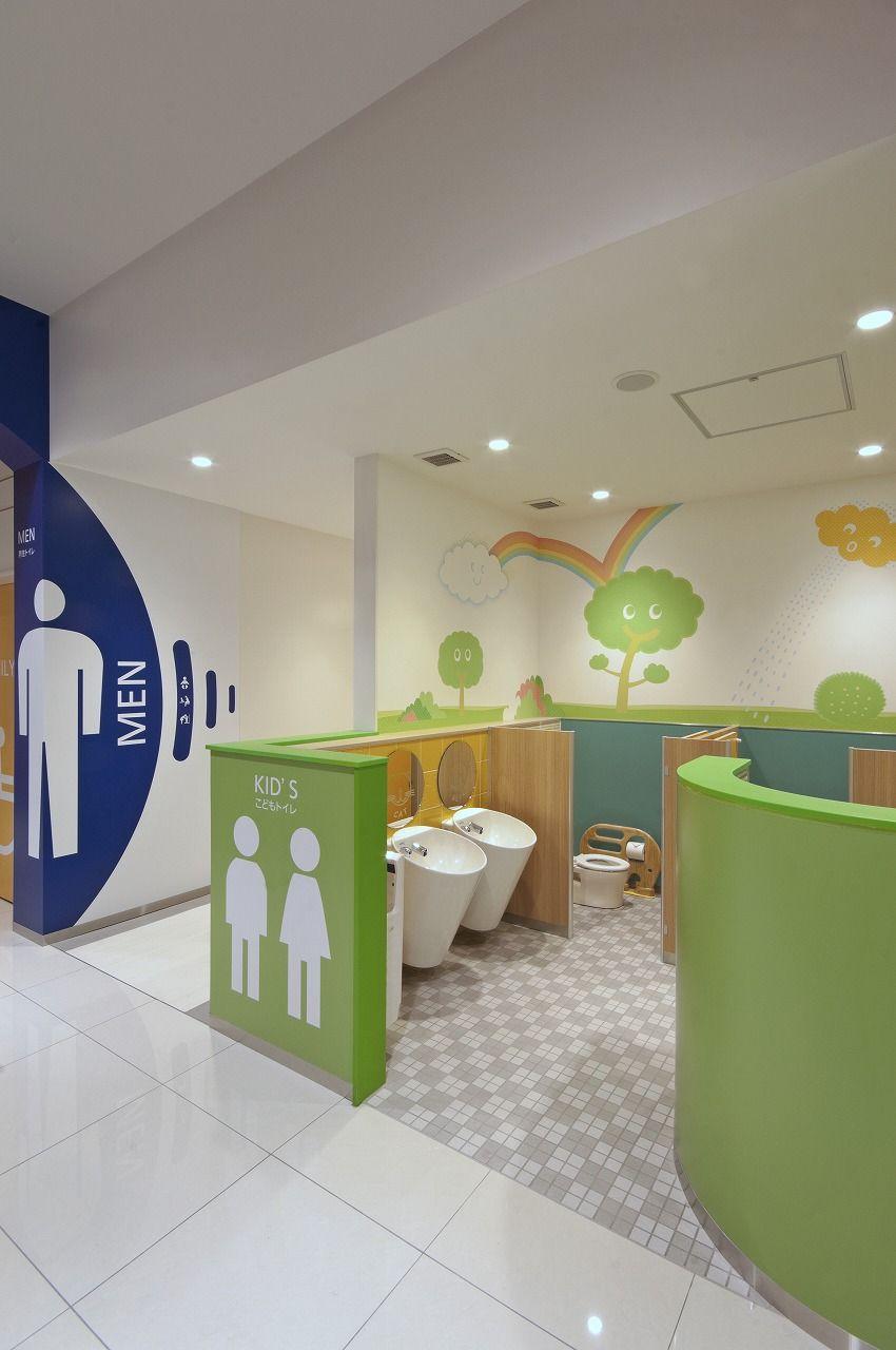 Kids Bathroom Interior Design For Commercial Spaces