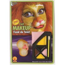 #BOOtifulparty lion makeup for the caged lion