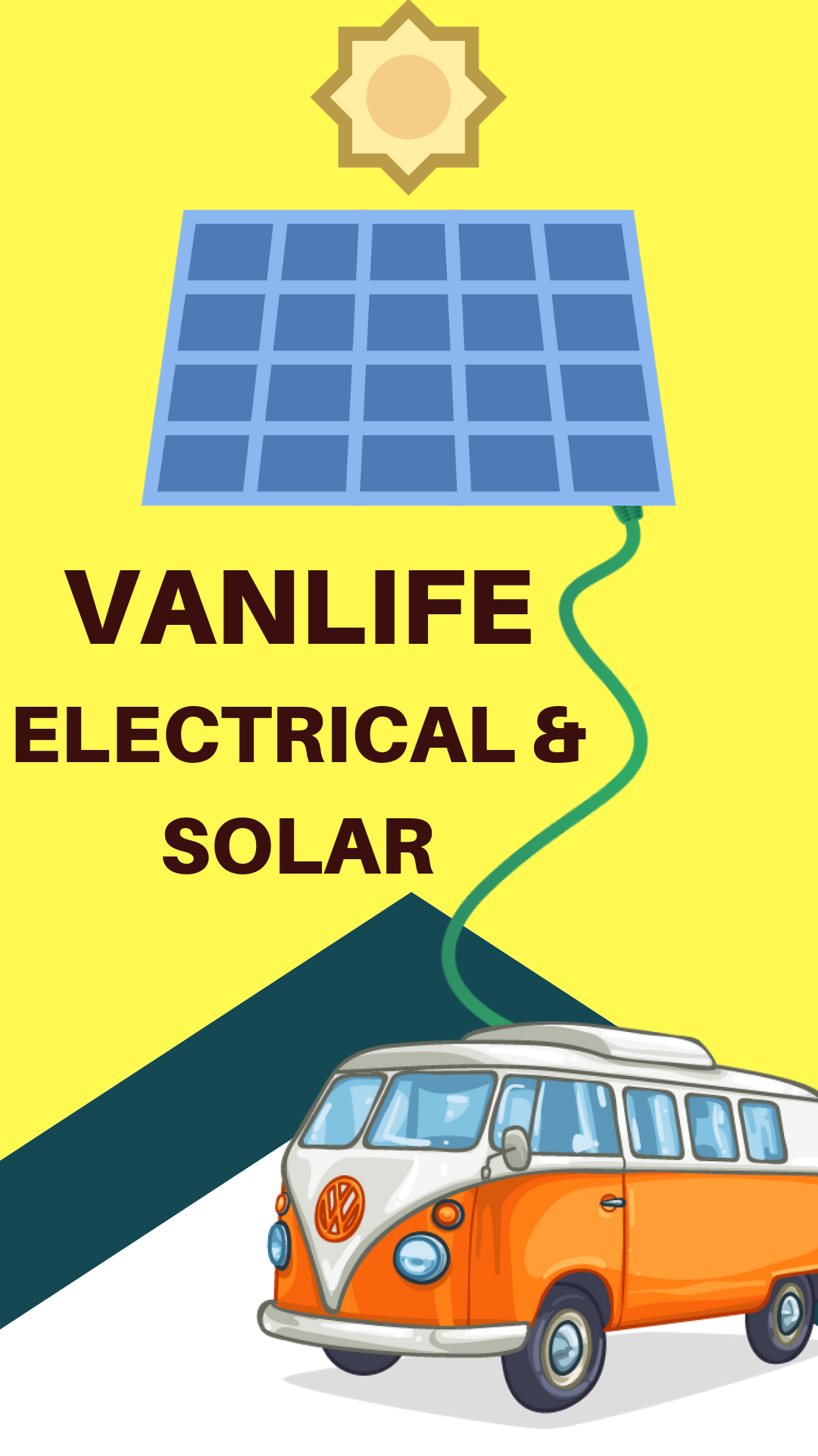 Photo of Camper van solar panels and electrical systems can often scare people away becau…