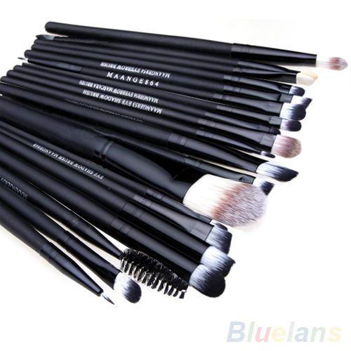 20 Pcs Pro Makeup Set Powder Foundation Eyeshadow Eyeliner Lip Cosmetic Brushes #Seattle2003us