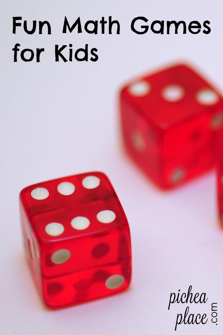 Fun Kids\' Math Games | Learn math, Math facts and Math skills