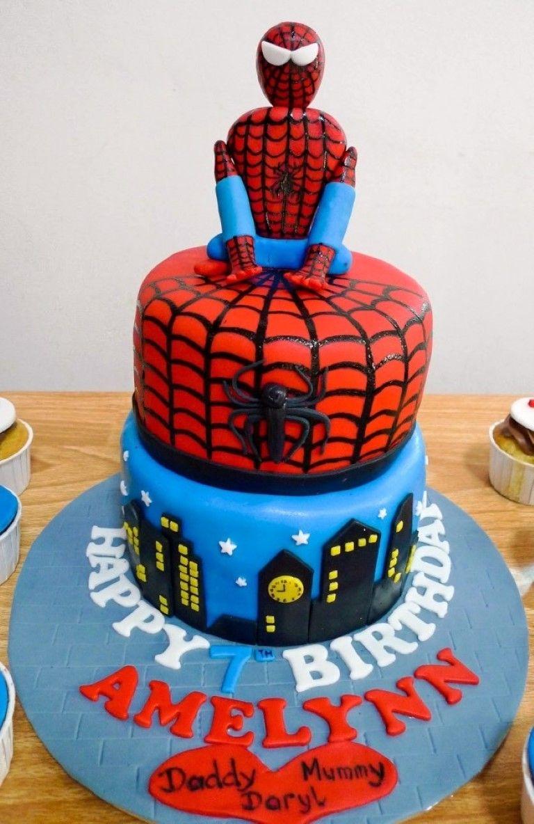 Spiderman Cakes Decorating Ideas Spiderman Cake Pictures Cake