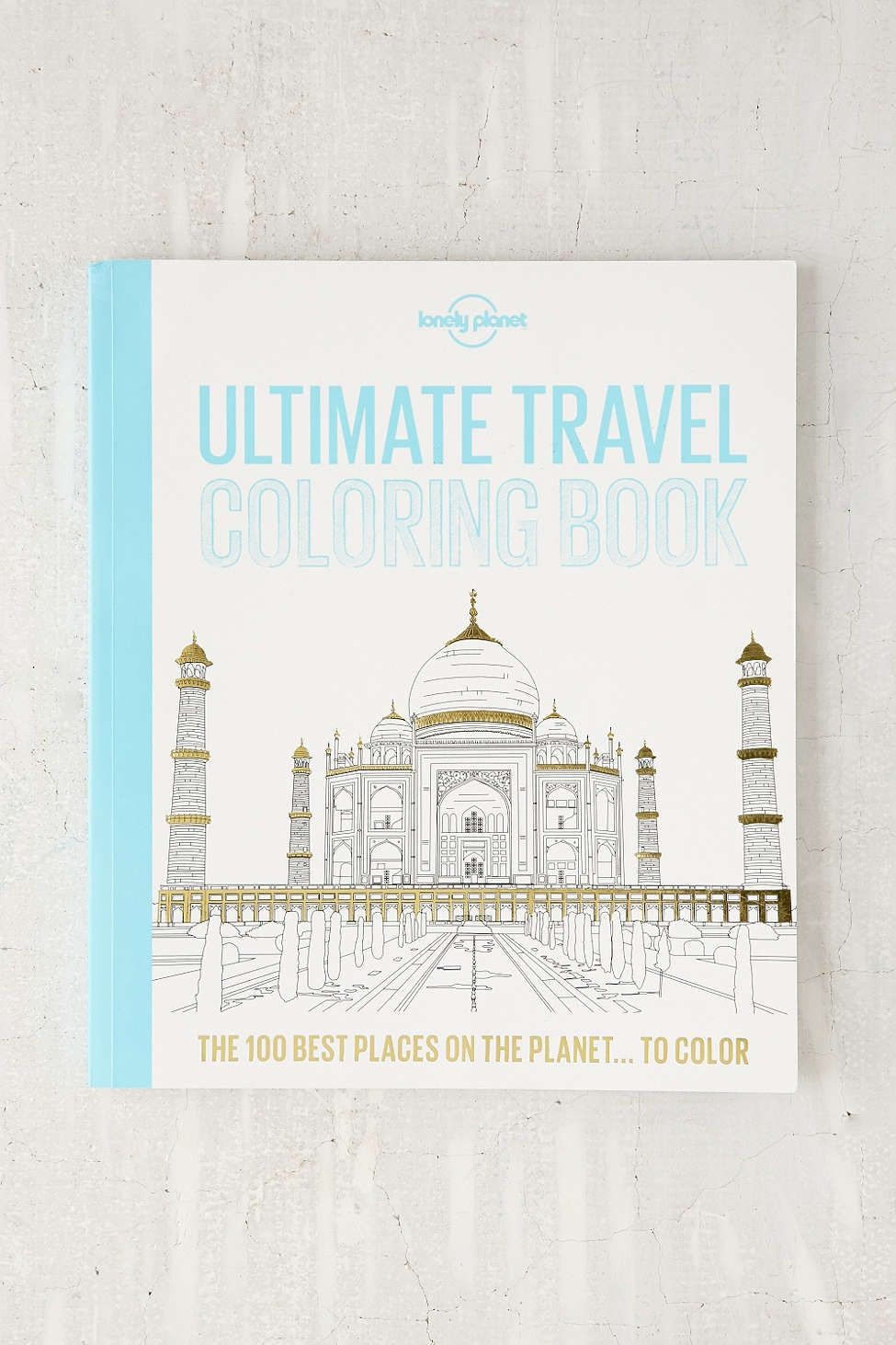 Ultimate Travel Coloring Book By Lonely Planet | Books, Journals ...