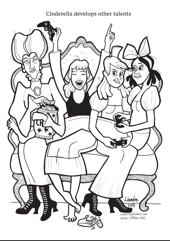 Anti-Princess Coloring Book Helps Girls Aim Higher ...