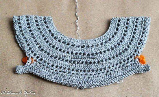 Tutorial #235: Vestidito de bebé a Ganchillo | CTejidas #vestidosparabebédeganchillo