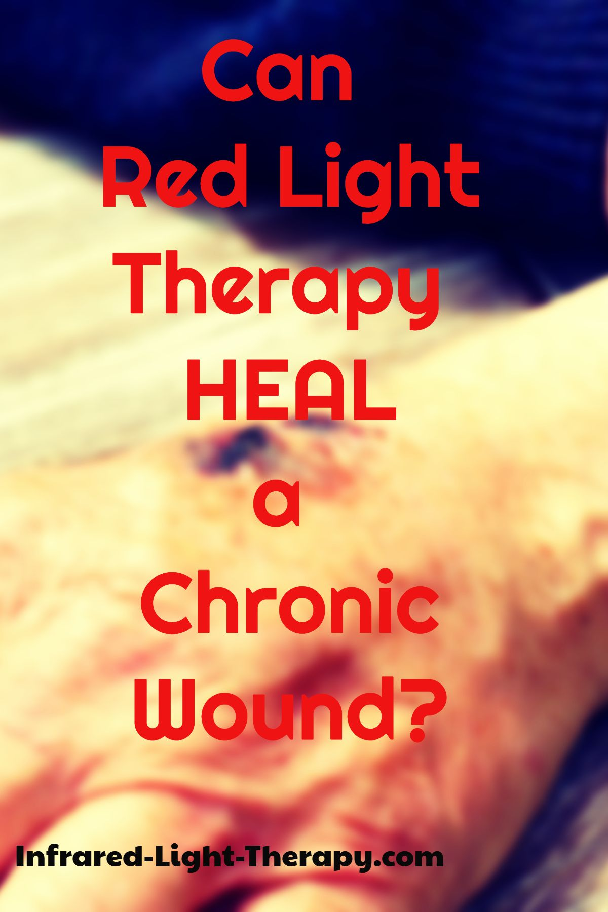 How to Use Red Light Therapy for FASTER Wound Healing (At Home