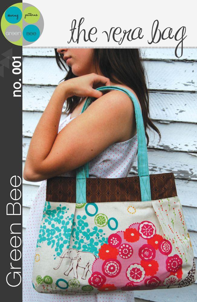 Vera Bag Sewing Pattern ($14)