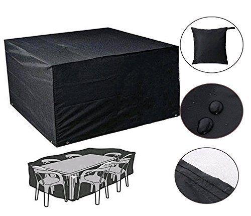 DaoRier 1pc Rectangular mesa sillas Cubierta Protectora Resistente ...