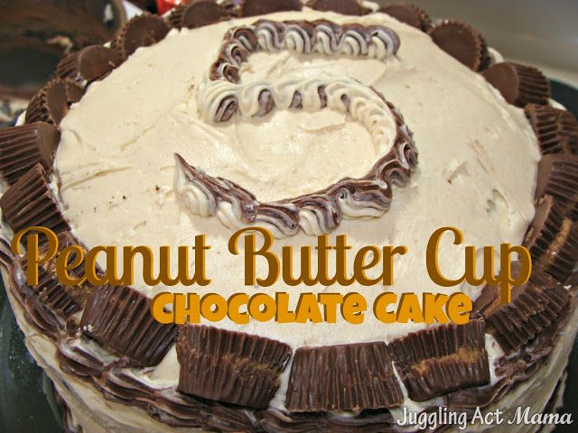 Juggling Act: Ethans Peanut Butter Cup Chocolate Cake