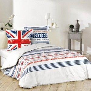 housse de couette london 45 90 coups de coeur. Black Bedroom Furniture Sets. Home Design Ideas
