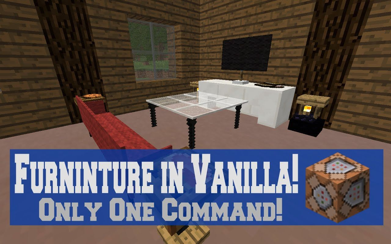 furniture command for minecraft