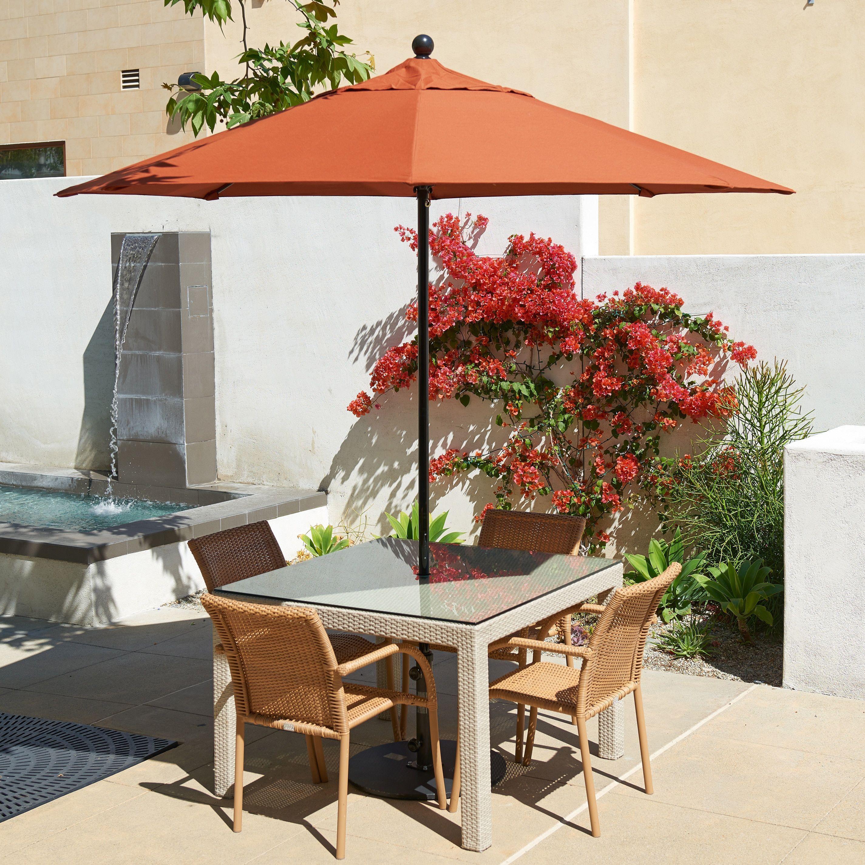 California Umbrella 7 5 Rd Fiberglass Frame Rib mercial
