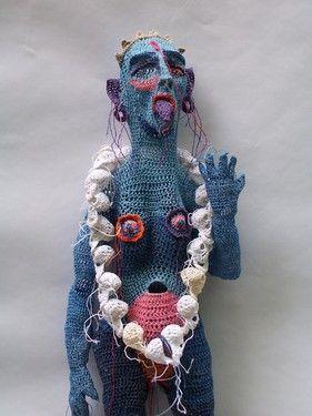 Kali, by crochet artist Johanna Schweizer from the Netherlands