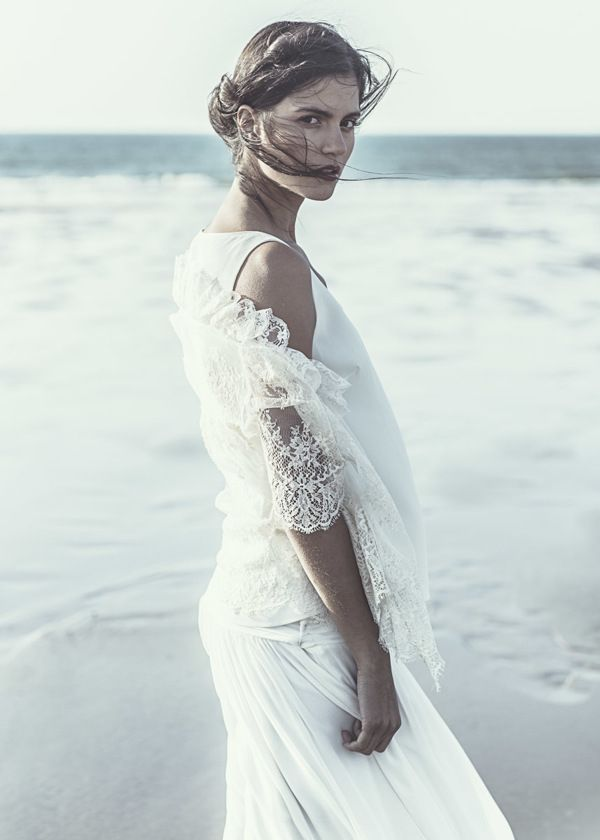 #weddingdress #beach #lauredesagazan
