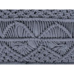 Photo of Pouf grau 40 x 40 cm Kayseri BelianiBeliani