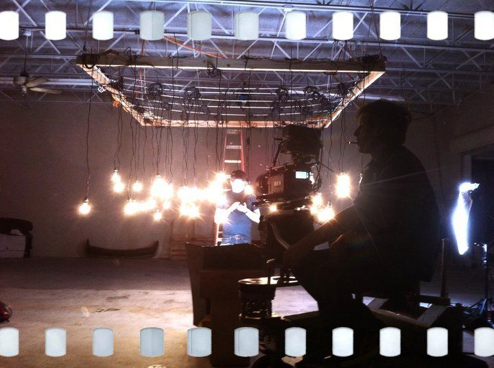 Hanging Light Bulb Set Up For A Music Video We Produced Hanging Light Bulbs Hanging Lights Bulb
