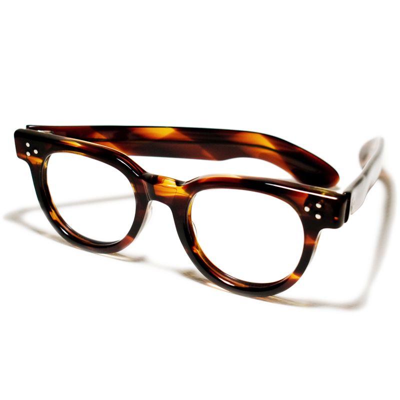 2ecbd94c9455 1960s (vintage glasses) TART OPTICAL FDR AMBER (Tart Optical FDR  tortoiseshell 44 22)