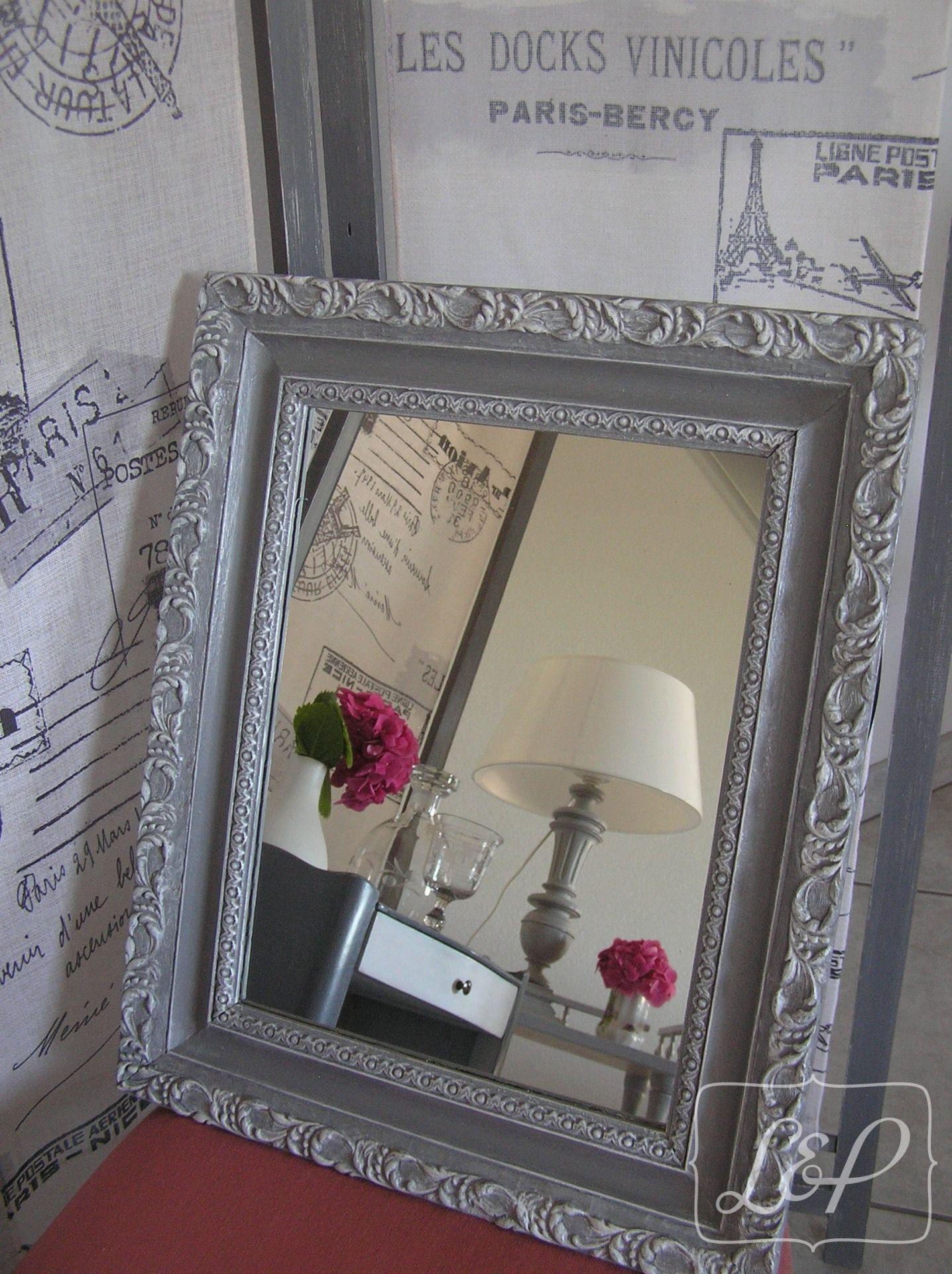 miroir cass comment conjurer le sort duun miroir cass cadre miroir en palettes esprit cabane. Black Bedroom Furniture Sets. Home Design Ideas
