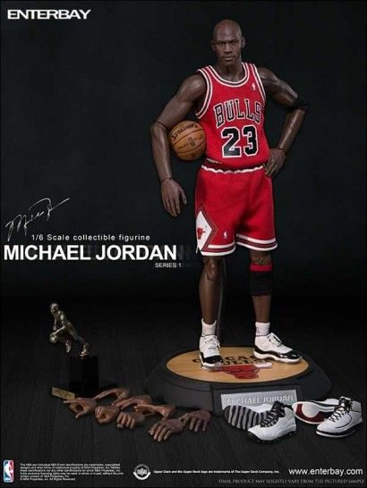 0234c06bf6e0db NBA Collection - Real Masterpiece Actionfigur 1 6 Michael Jordan (Road  Edition) 33 cm