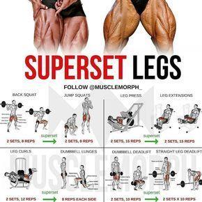 best leg exercises