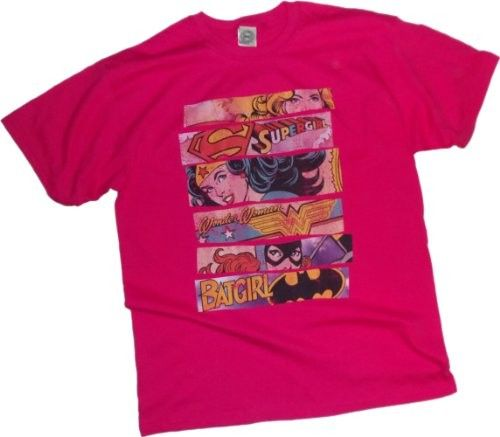Three Of A Kind -- Supergirl - Wonder Woman - Batgirl T-Shirt - for children, teens, and adults