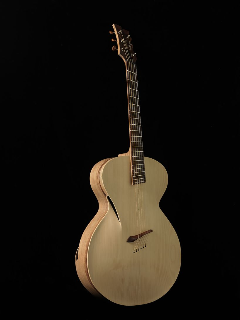 Maxwell Custom Carefully Crafts The Infinitum Acoustic Guitar Guitar Design Acoustic Guitar Guitar