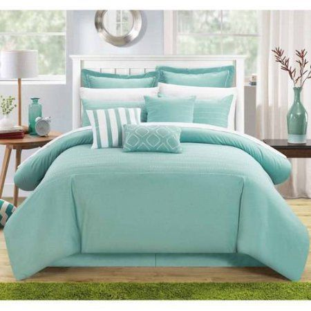 Chic Home 9 Piece Karlston Super Rich Microfiber Stitch