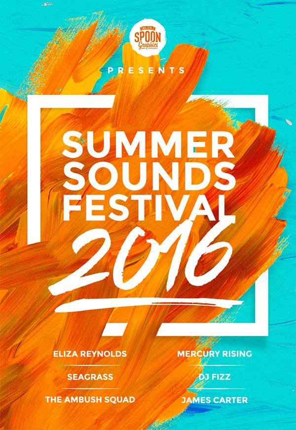 Create a Music Festival Poster Design in Photoshop « Design Cuts