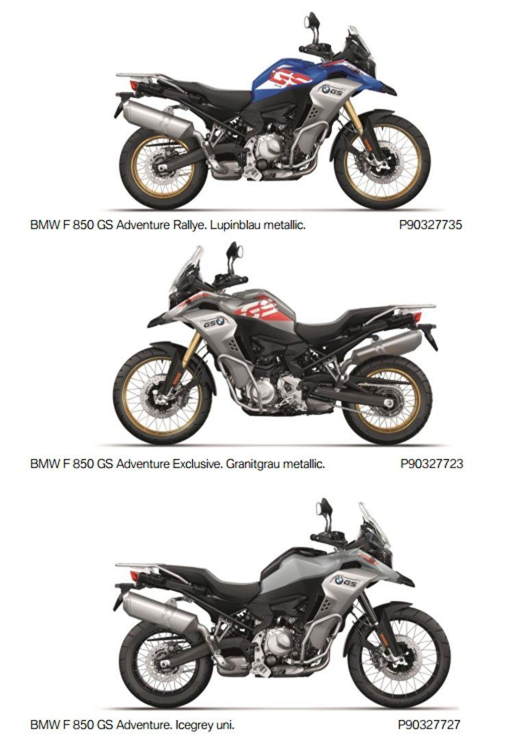 All New Bmw F850gs Adventure Revealed For 2019 Adv Pulse In 2019 Bmw F 850 Gs Motorcycles Concept 2019 New Bmw Bmw Adventure