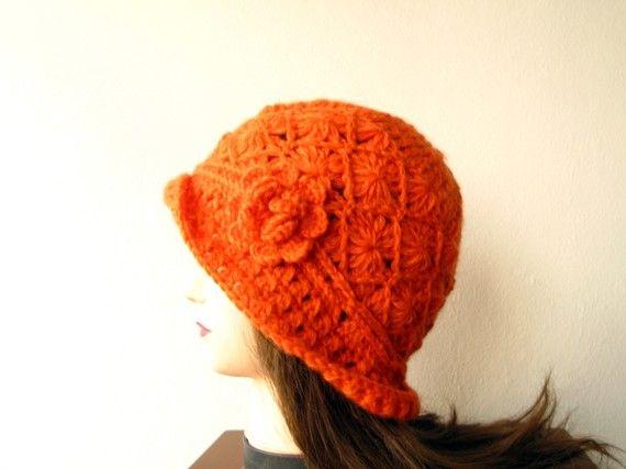 Crochet Pattern, Woman Hat,DIY Crochet,Crochet Hat Pattern, Hat Beanie, Instant Download,Cap Beanie, Fisherman Hat,Crochet Flower,Adult Hat