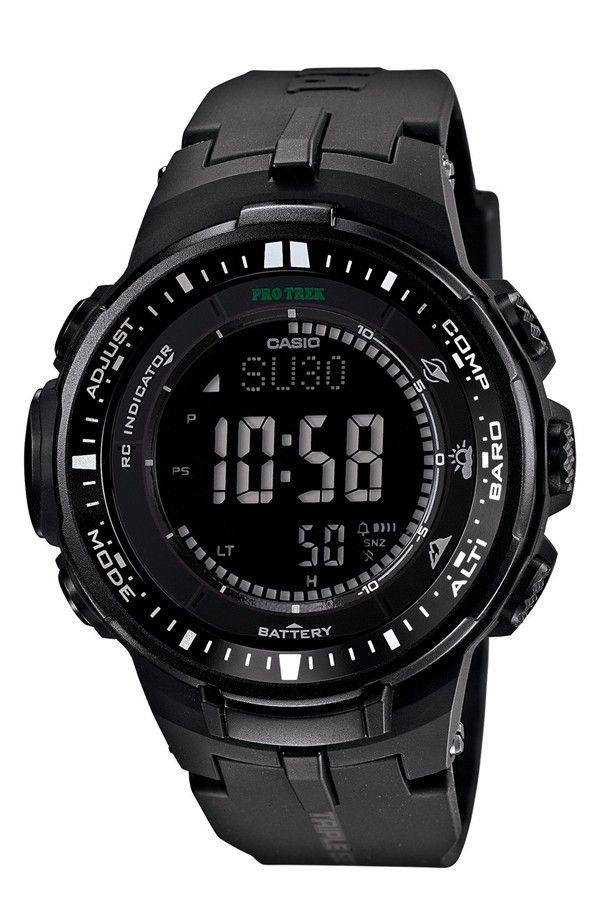 de170175789 CASIO G-Shock  Pro Trek  Triple Sensor Digital Watch