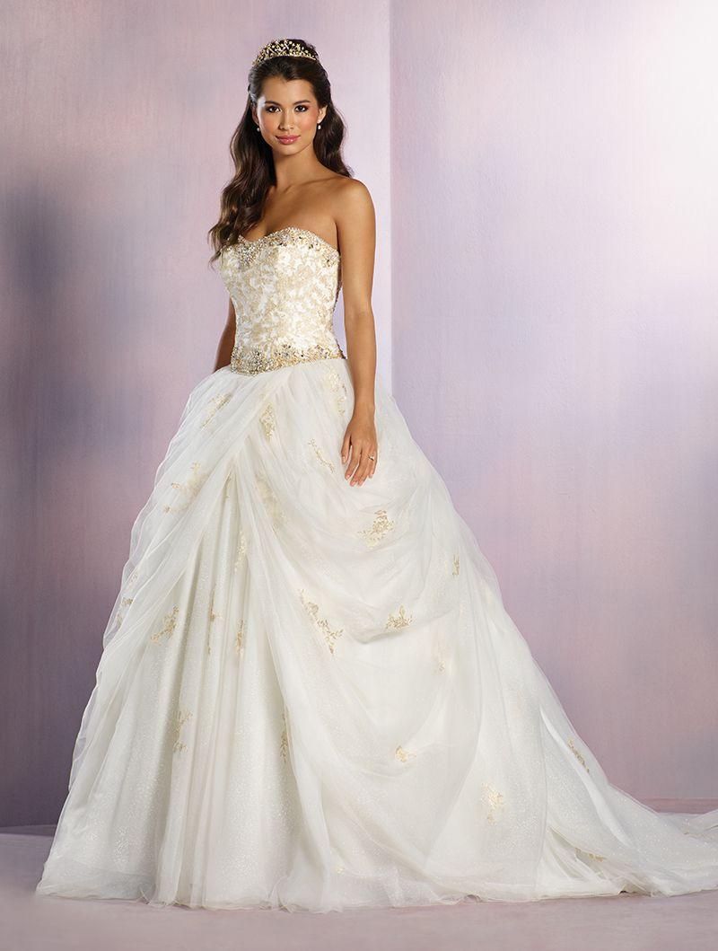 Wedding Gown Gallery Disney Inspired Wedding Dresses Belle Wedding Dresses Ball Gown Wedding Dress [ 1059 x 800 Pixel ]