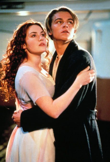 Titanic 1997 Leonardo Dicaprio And Kate Winslet Movie Couples Titanic Movie Movies