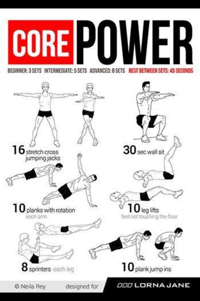 Core workout, abdominal workout | Abdominal work! | Pinterest