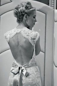 I'm looking for a dress like this with an open back