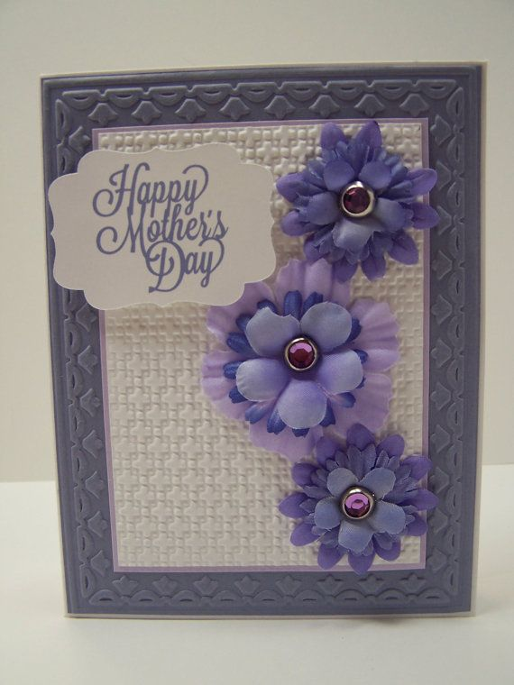 Stampin Up Handmade Greeting Card Mother S Day Card Etsy Greeting Cards Handmade Floral Cards Mother S Day Greeting Cards