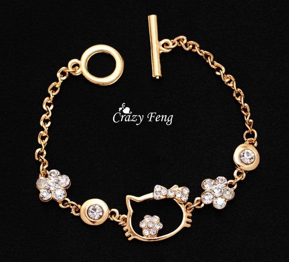 Gold · Charm Bracelet