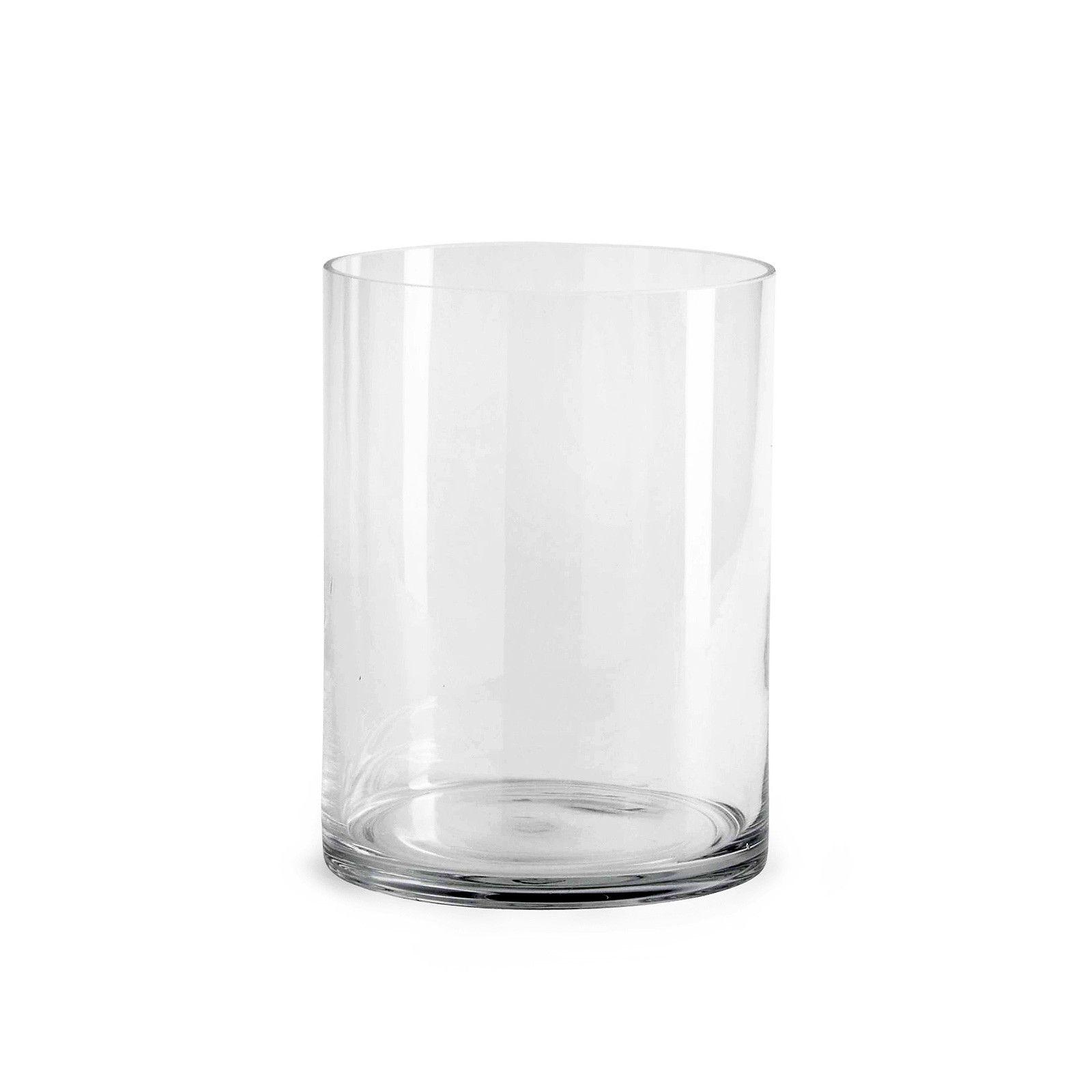 Vase Zylinder Glas klar ca D:15 x H:20 cm